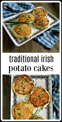If there is anything better than mashed potatoes, it has to be Traditional Irish Potato Cakes! Make them anytime you have leftover potatoes. st patricks day dinner Leftover mash is perfect but start from scratch otherwise. Irish Potatoes, Leftover Potatoes, Mashed Potato Cakes Leftover, Mashed Potato Patties, Mashed Potato Pancakes, Mashed Potato Recipes, Bacon Recipes, Meatloaf Recipes, Casserole Recipes