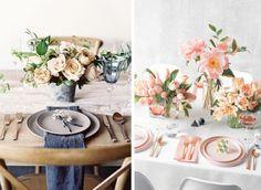 11 vackra dukningar till vårens middagar