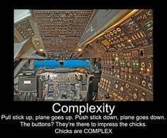 Pilot complexity ...teehee