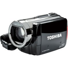 """Toshiba Camileo X100 HD 1080p Camcorder, 10x Optical Zoom, 3"""" Touch Screen,  4GB Internal Flash Memory  This will have to do till I can afford my SLR.... for my youtube videos.."""