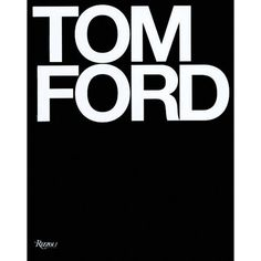 Tom Ford book for my library