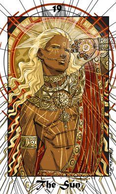 Tarot -19- The Sun  ^__^