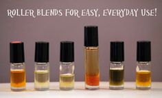 6 Roller Bottle Blends for EASY Everyday Use!