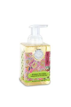 Michel Design Works Soap Foaming - Tutti Frutti. The generous size of our foaming hand soap proves you can offer great value without sacrificing quality. The soap contains shea butter and aloe vera for gentle cleansing and moisturising.  Scent: Violets & Berries