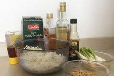Wombok Salad - Salat Zutaten