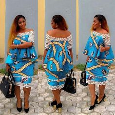 These ankara styles 2017 have been selected to quench your thirst for latest ankara styles, they are breathtaking and will make you look wonderful African Fashion Ankara, Latest African Fashion Dresses, African Dresses For Women, African Print Dresses, African Print Fashion, Africa Fashion, African Attire, African Wear, African Women