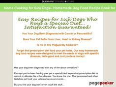 Home Cooking for Sick Dogs | Avoiding Prescription Diets for Pets