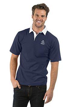 062e0bd733a Scotland Thistle Short Sleeve Rugby Shirt - Colour Navy Blue - XS to 2XL (L)