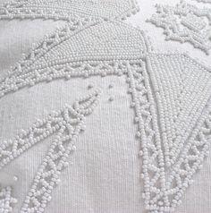All white beaded Artic Star