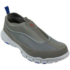 575caac920c1 Slip-On Lightweight Mesh Athletic Shoes  The features a slip-on stretch mesh  construction is perfect for sand and sea. A soft-cushioning outsole and a  ...