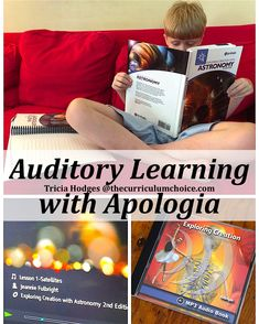 Do your homeschoolers learn best by listening? They may enjoy auditory learning with Apologia and all of the resources they have for multiple ages.