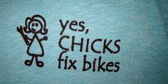Women in Calgary battle stereotypes in the bike scene.