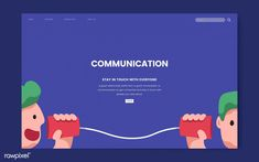 Communication and information website graphic Free Vector Social Media Template, Social Media Design, Free Web Design, Ui Design, Layout Design, New Music Albums, Software, Network Icon, Invitations