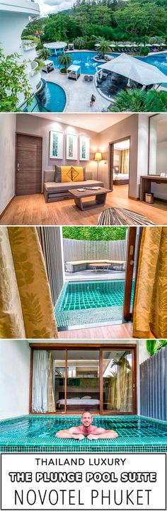 Novotel Phuket Karon Beach Resort and Spa offers guests an amazing suite with its own private plunge pool! Located just feet away from Karon Beach in Phuket, Thailand. This luxury hotel's restaurants, pools and amenities offer a luxury experience for travelers. Find out more here.