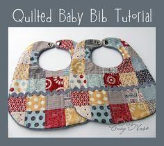 Our Cozy Nest: Quilted Baby Bib Tutorial