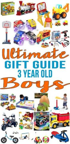 11b856ebddf BEST Gifts 3 Year Old Boys! The ultimate gift guide for gifts for 3 year