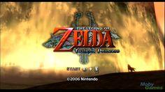 The Legend of Zelda Twilight Princess title