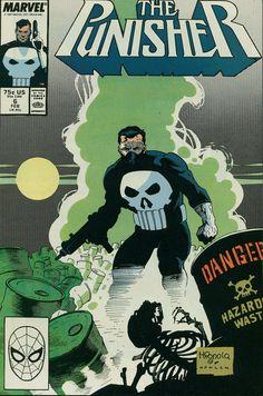 The Punisher #6 (Marvel Comics - February 1988) Illustrators: Mike Mignola (Pencils) & Kevin Nowlan (Inks)