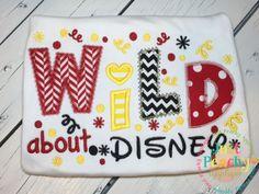 Wild About Disney Applique Design