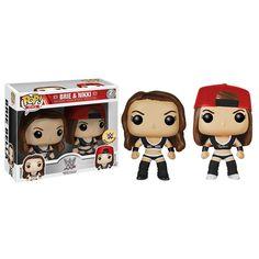 Brie and Nikki The Bella Twins WWE Funko POP! Vinyl