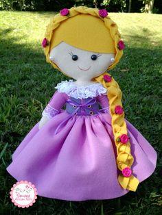 Kit Princesas Disney em Feltro
