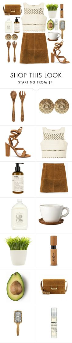 """suede summer"" by annamalana ❤ liked on Polyvore featuring Crate and Barrel, Givenchy, Gianvito Rossi, SUNO New York, Le Labo, Zara, Prince & Spring, Höganäs Ceramic, Dot & Bo and SheaMoisture"