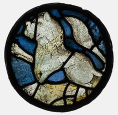 Roundel Date: 15th century Culture: British Medium: Stained Glass Dimensions: Overall: 10 1/2 in. (26.7 cm) Classification: Glass-Stained