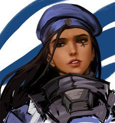 Overwatch - Ana Amari by http://yy6244.tumblr.com/