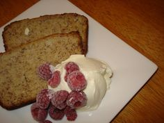 almond flour banana cake