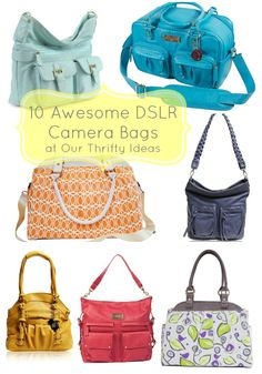 10 DSLR camera bag roundup at Our Thrifty Ideas