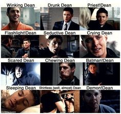Most of the Dean's we love...missing a few :)
