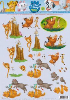 Disney animals friends 9