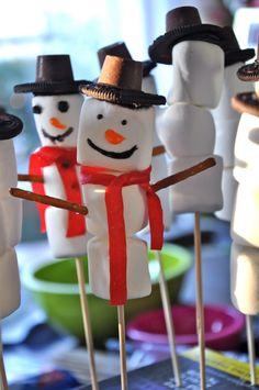 Little Bit Funky: toddler activities  make your own snowmen