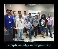 Znajdź na zdjęciu programistę