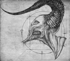 Easy To Draw Demons Google Search Art Dark Art Drawings Easy