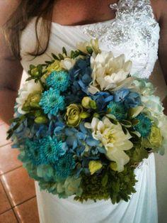 Katies' beach wedding bouquet-Garden Gate Florals-Orlando. #beachweddings
