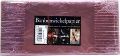 Bonbonwickelpapier Rosa Aluminium ca. 10 Blatt