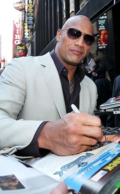 The Rock Dwayne Johnson, Rock Johnson, Dwayne The Rock, Wwe The Rock, Wyclef Jean, Light Grey Suits, Hot Dads, Under The Knife, Hollywood Actor