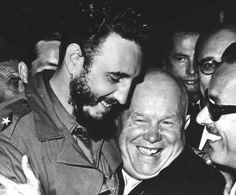 fidel e kruschev em 1960