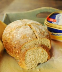 chleb z kuskus Food And Drink, Bread, Recipes, Brot, Recipies, Baking, Breads, Ripped Recipes, Buns