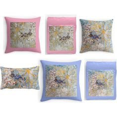 """""""Stunning Bluebirds in the Snow Exquisite Bedroom Home Decor"""" by innocentoriginalsartgifts on Polyvore"""