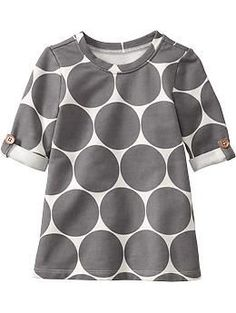 baby jersey tunic | Printed-Dot Jersey Tunics for Baby, this was too adorable not to buy ...