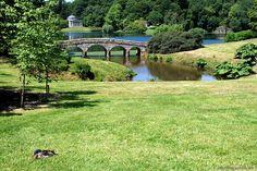 Der Park von Stourhead.