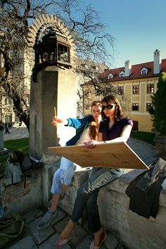 Creativity in the medieval Old Town, Bratislava, Slovakia Bratislava Slovakia, Central Europe, Interesting History, Slovenia, Old Town, Medieval, Creativity, Travel, Old City