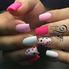 Beautiful Nail Art Designs & Ideas 2019 - style you 7 Stylish Nails, Trendy Nails, Pink Nails, Gel Nails, Best Acrylic Nails, Super Nails, Nagel Gel, Beautiful Nail Art, Creative Nails