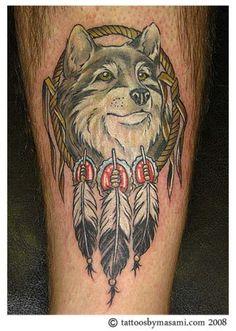 4d2ab6df0 Native American Wolf Tattoos - Tattoo Images Feather Tattoos, Wolf Tattoos,  Animal Tattoos,