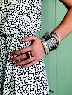 #Arm #Party! Create your own #layered #look with jewelry that is easy to mix and match! #Silpada #Jewelry #Sterling #Silver