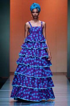 Mercedes Benz Fashion Week Africa Bongiwe-Walaza-for-M South African Fashion, African Fashion Designers, African Inspired Fashion, African Print Fashion, Africa Fashion, Women's Fashion, African Print Dresses, African Fashion Dresses, African Dress