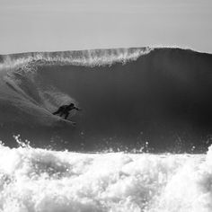 Dane Reynolds sets his line in a mean barrel in the south of France. Photo: Morgan Maassen