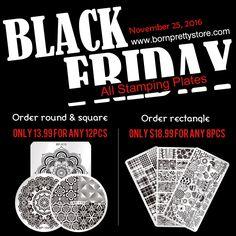 Black Friday è dietro l'angolo! Grandi sconti sul sito bornprettystore! Ti aspettano tanti sconti! http://www.bornprettystore.com/
